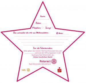 Wunschzettel Rotaract Tafel Sparkasse 2020-12